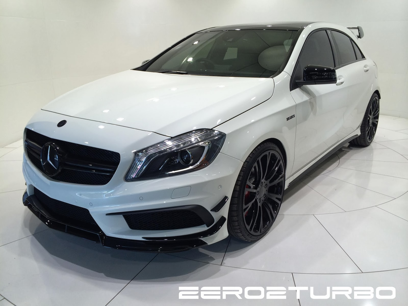 brabus a45 amg in south africa. Black Bedroom Furniture Sets. Home Design Ideas
