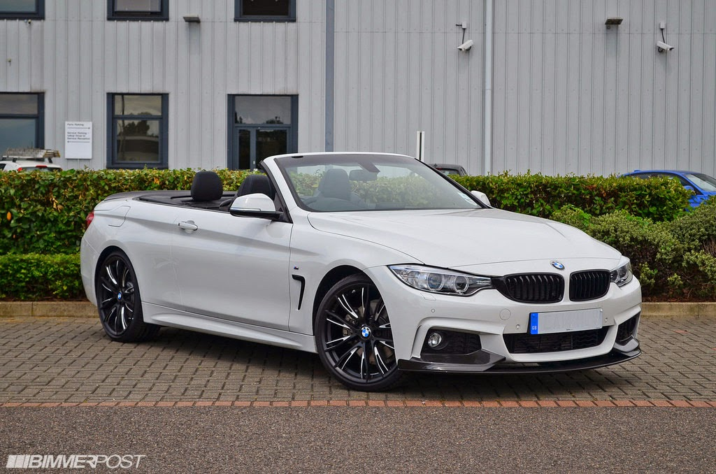 bmw 4 series convertible looks superb with m performance parts. Black Bedroom Furniture Sets. Home Design Ideas