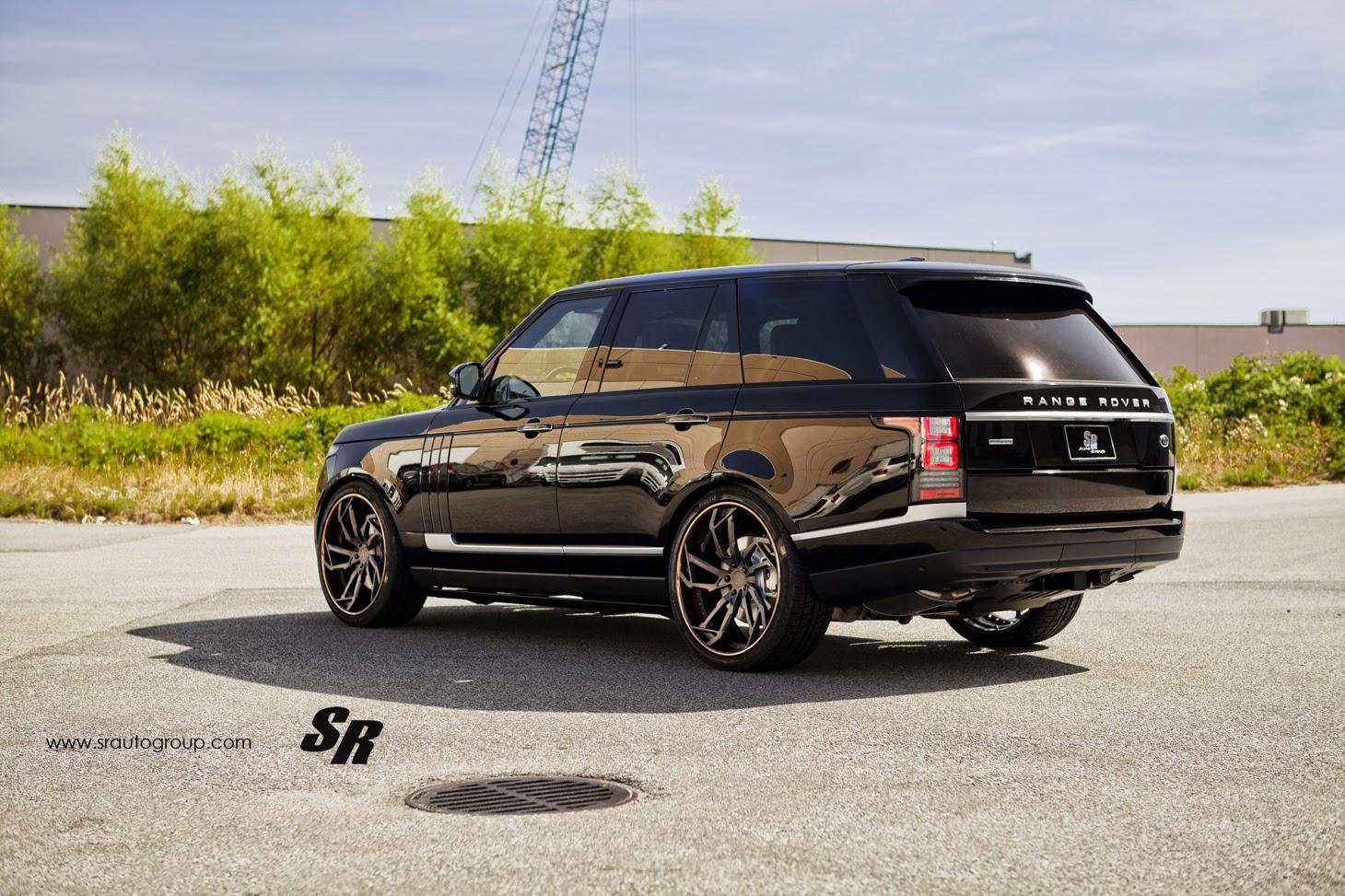 Range Rover Matte Black >> Range Rover Autobiography Gets Some Big New PUR Wheels