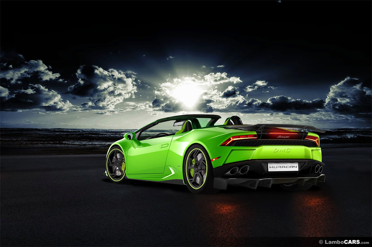 lamborghini huracan dmc affari spyder previewed virtually. Black Bedroom Furniture Sets. Home Design Ideas