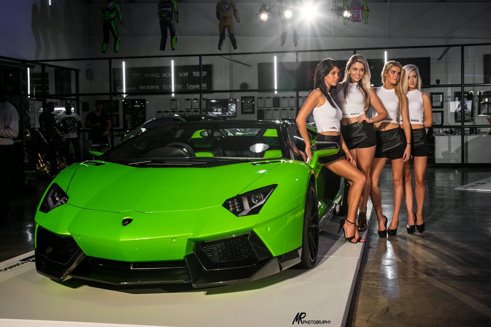 Novitec Torado Lamborghini Aventador Roadster Launch At
