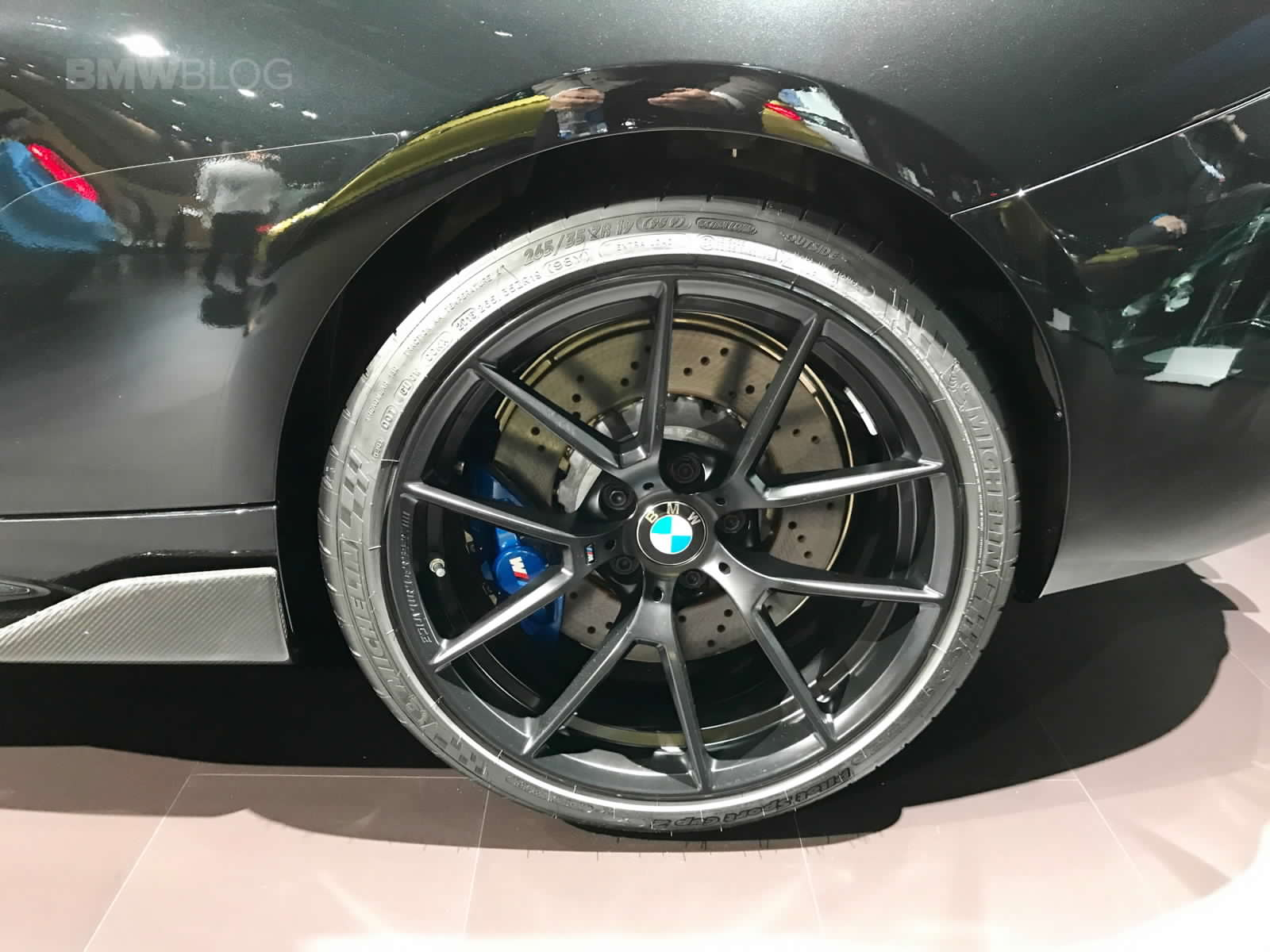 BMW M2 Cs >> BMW Shows New 763M M Performance Wheels For M2, M3 & M4