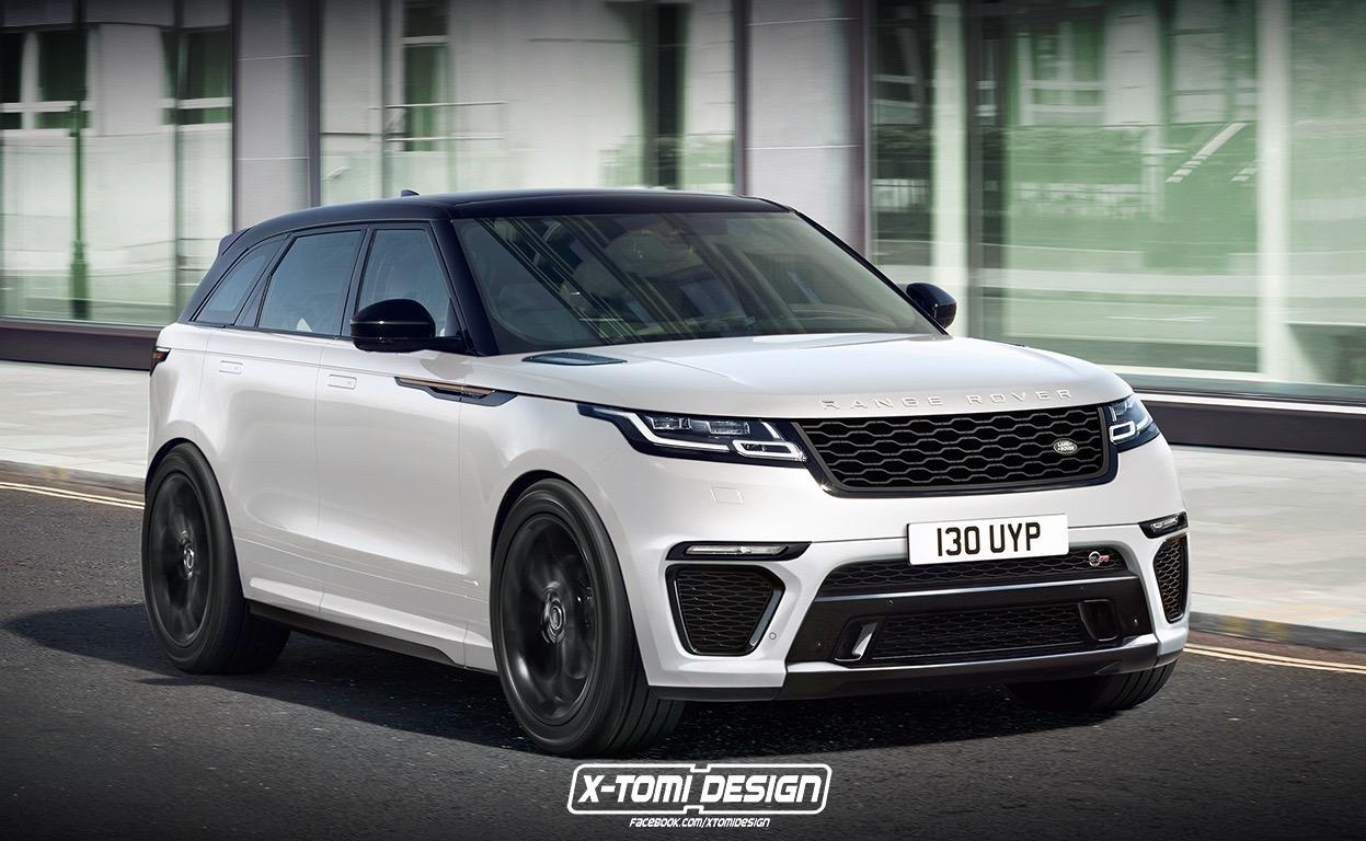 Range Rover Velar SVR Already Spotted Testing - Rendering ...