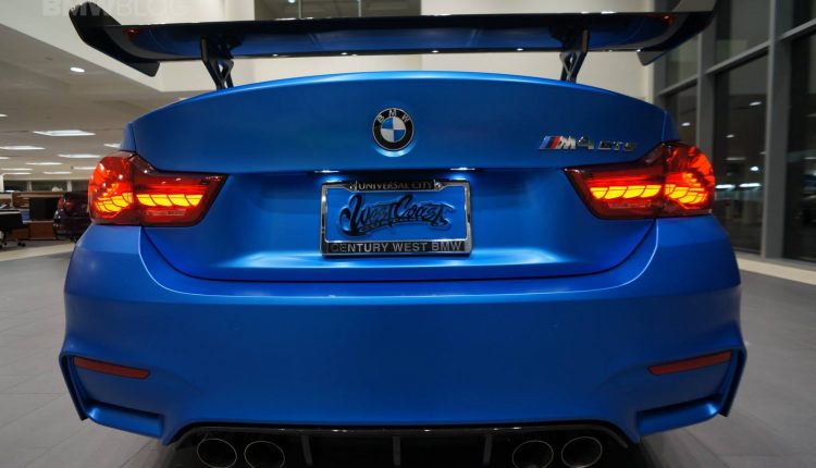 Bmw M4 Gts Gets The West Coast Customs Works