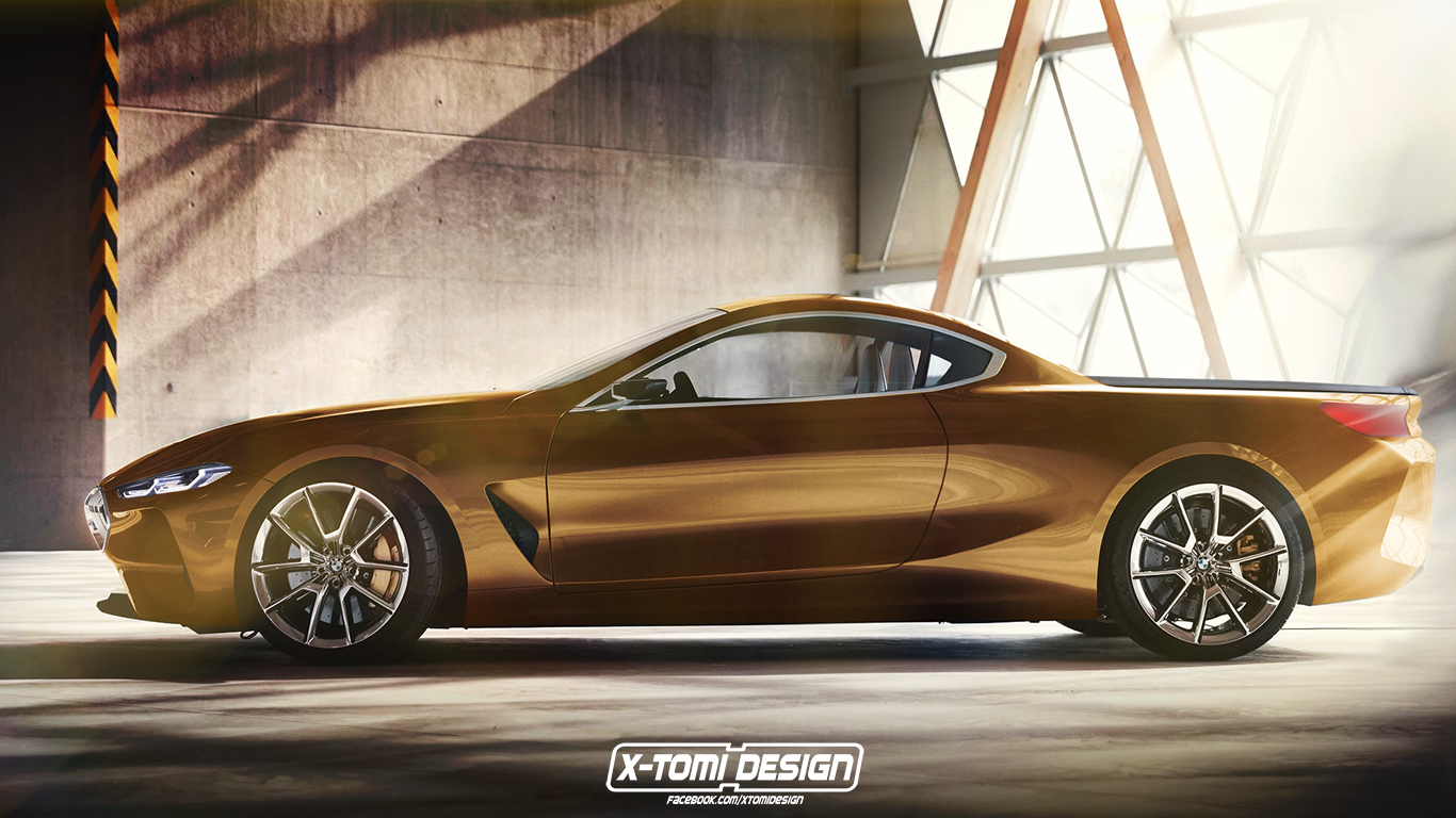 Bmw M4 Convertible Price >> BMW Concept 8 Cabrio, Pickup, Shooting Brake and GranCoupe Forms Rendered