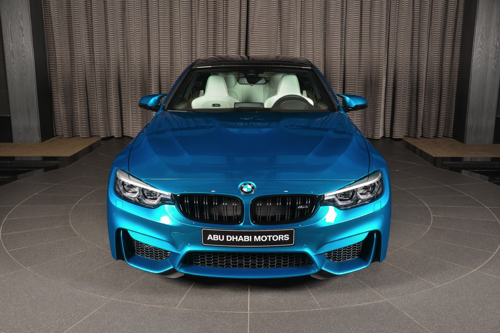 What Is The Fastest Production Car In The World >> Individual Atlantis Blue BMW M4 Competition Package Is A ...