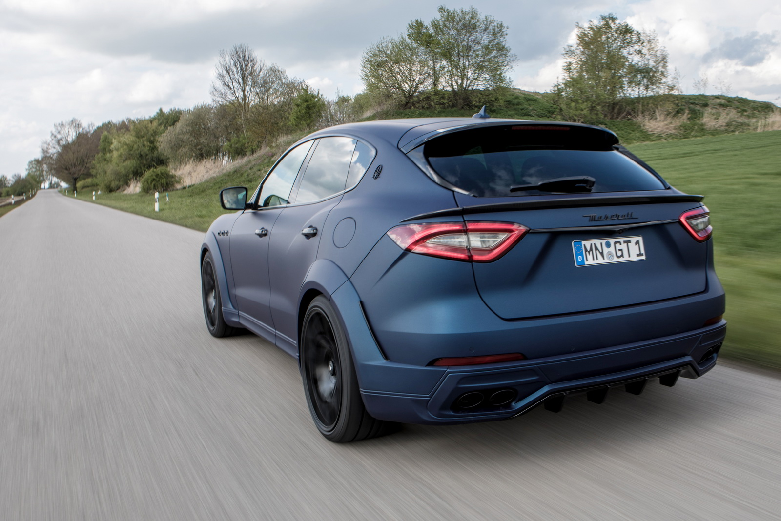 Novitec Create Another Maserati Levante Package Called Esteso