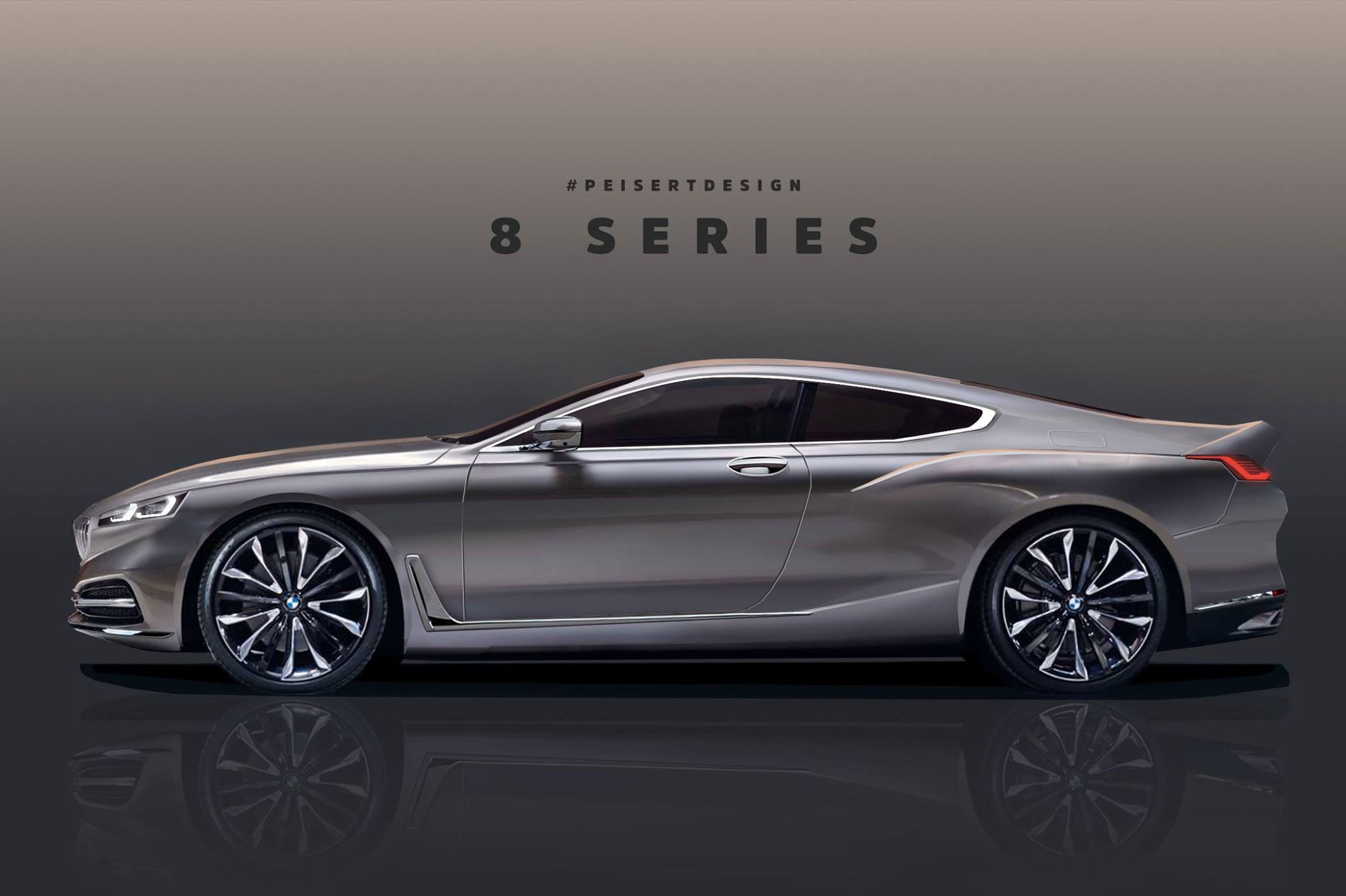 Bmw 8 Series And M8 Rendered From Official Teaser