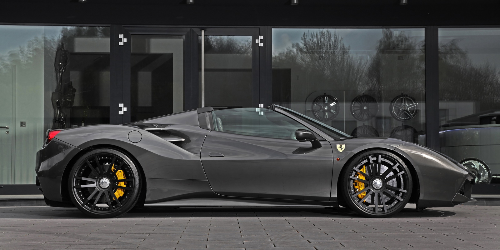 2018 ferrari 488 spider. simple 488 as one would expect you can also apply this tuning program to your 488 gtb  and the package includes an exhaust valve control that transforms v8  in 2018 ferrari spider