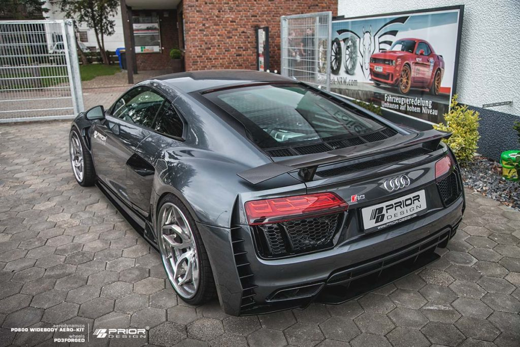 Prior Design Widen The Audi R8 V10