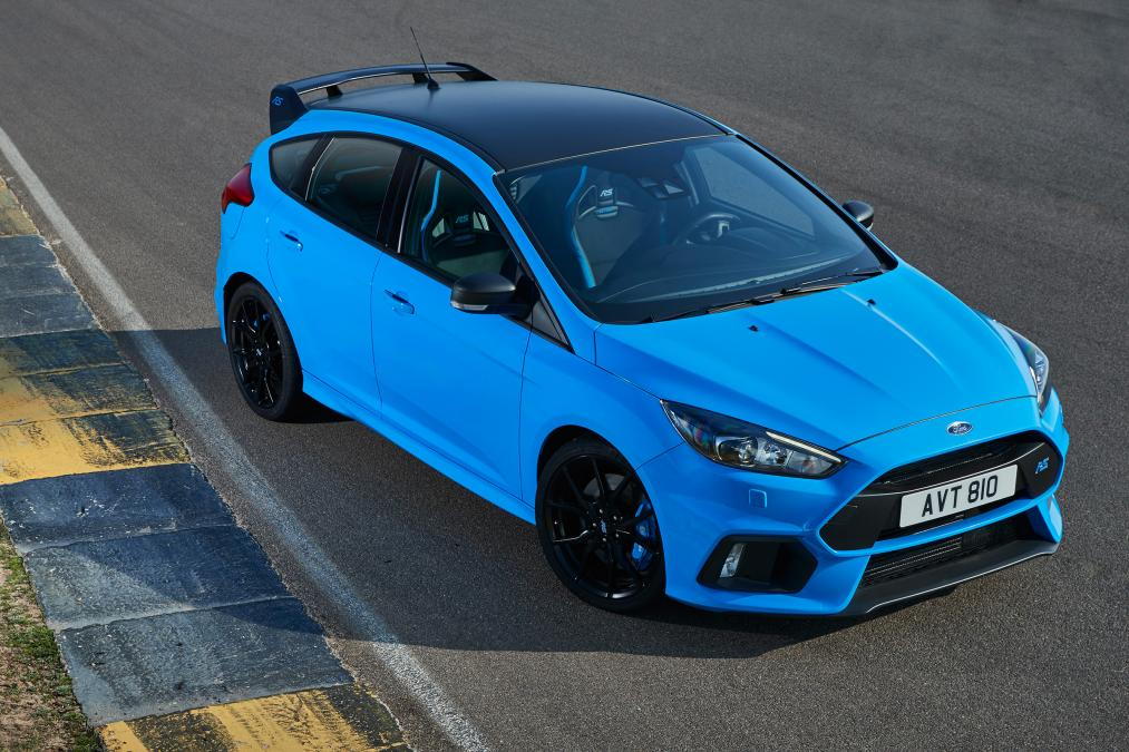 Ford Focus Rs New Option Pack Includes Limited Slip Diff