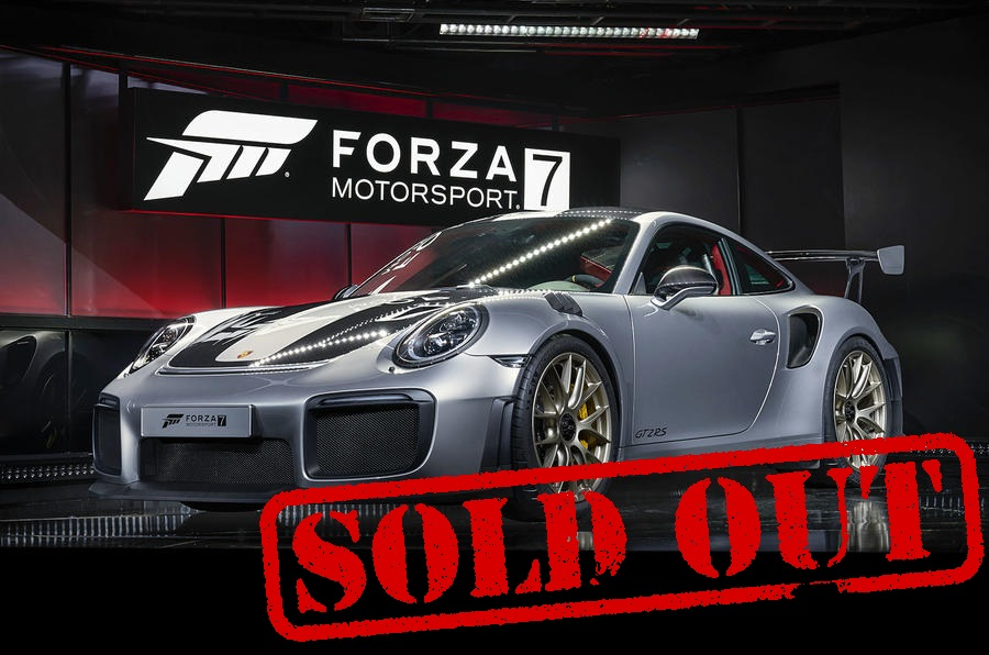 porsche building 1000 units of gt2 rs and it is sold out. Black Bedroom Furniture Sets. Home Design Ideas