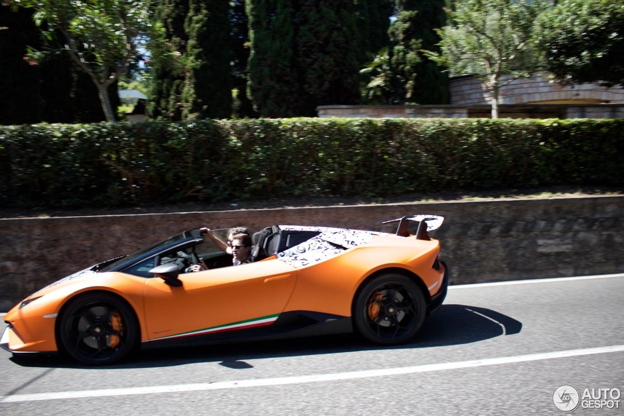 Lamborghini Hurac 225 N Spyder Performante Spotted With No Camo
