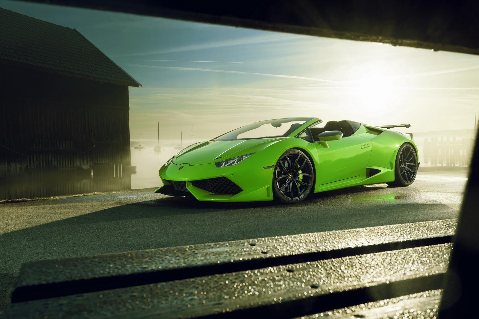 Lamborghini Huracan Spyder Gets The Novitec N Largo Treatment