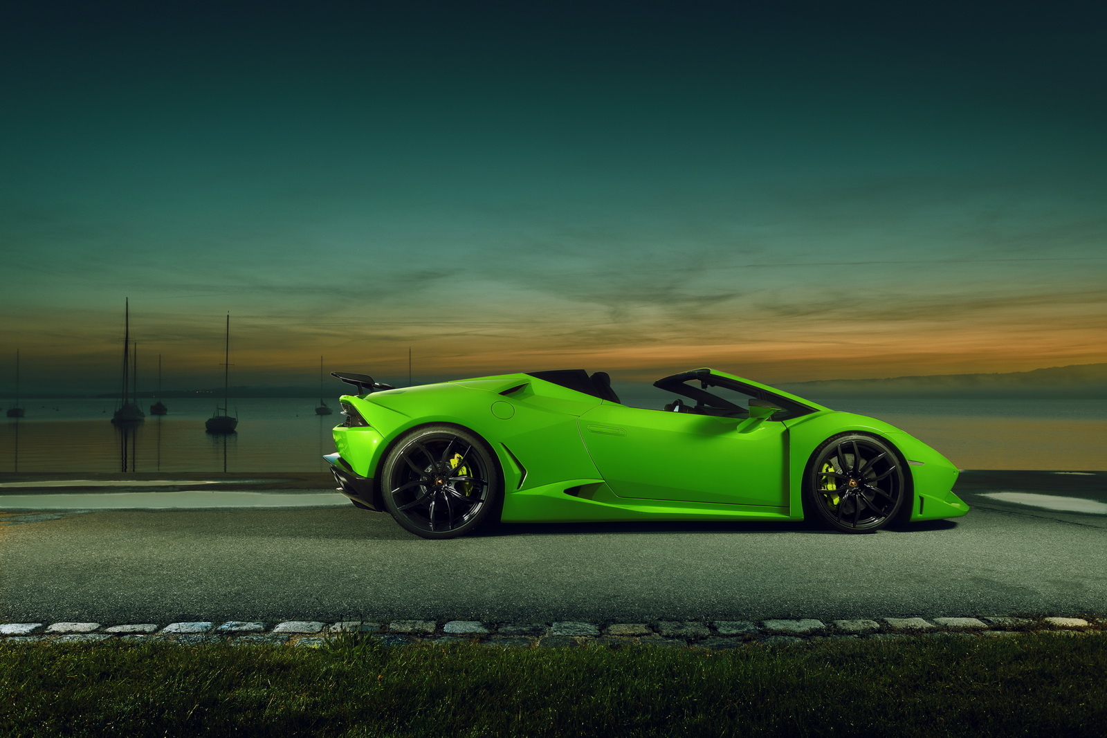 Lamborghini Huracan Spyder Gets The Novitec N Largo Treatment