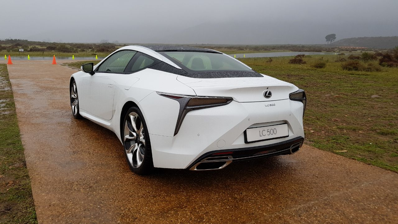 2017 Lexus Lc 500 >> Lexus LC 500 Arrives In South Africa With 5.0-Litre V8