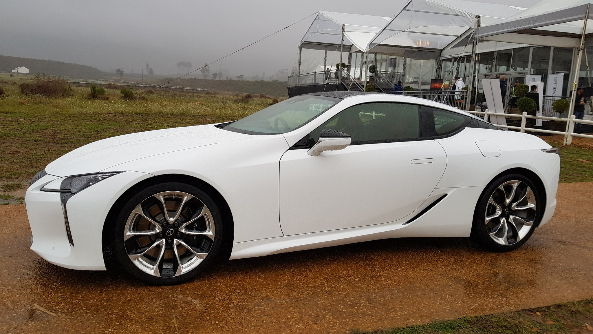 Michelin Pilot Sport >> Lexus LC 500 Arrives In South Africa With 5.0-Litre V8