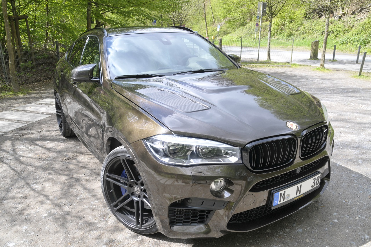 Manhart Inject Steroids Into The Bmw X6 M