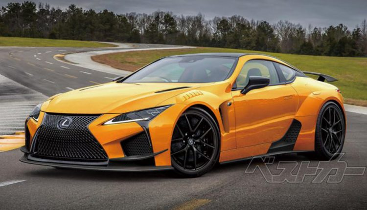 Lexus LC F Allegedly Arriving In 2019 With 600 HP