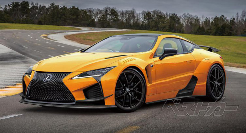 The Lexus LC 500 Has Just Touched Down In South Africa But According To  Best Car Web, A More Hardcore LC F Version Is Allegedly On Track For The  2019 Model ...