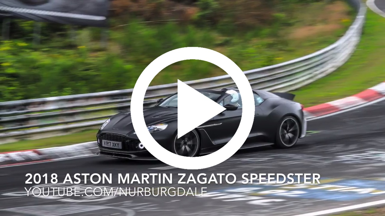 Look At And Listen To The Sexy Aston Martin Vanquish Zagato Speedster