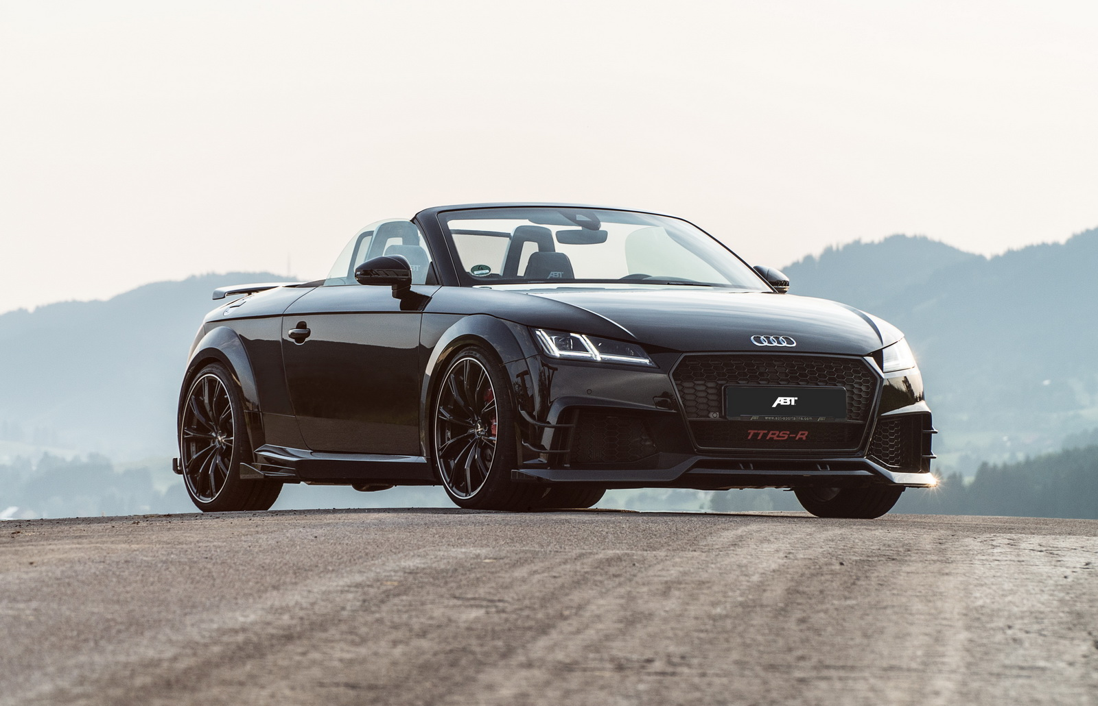 Abt Turn Audi Tt Into Mini R8 Spyder With Tt Rs R Roadster