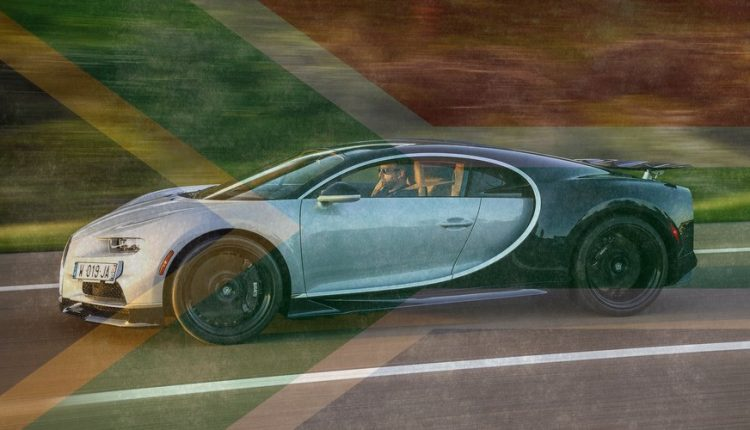 exclusive bugatti chiron coming to south africa this year