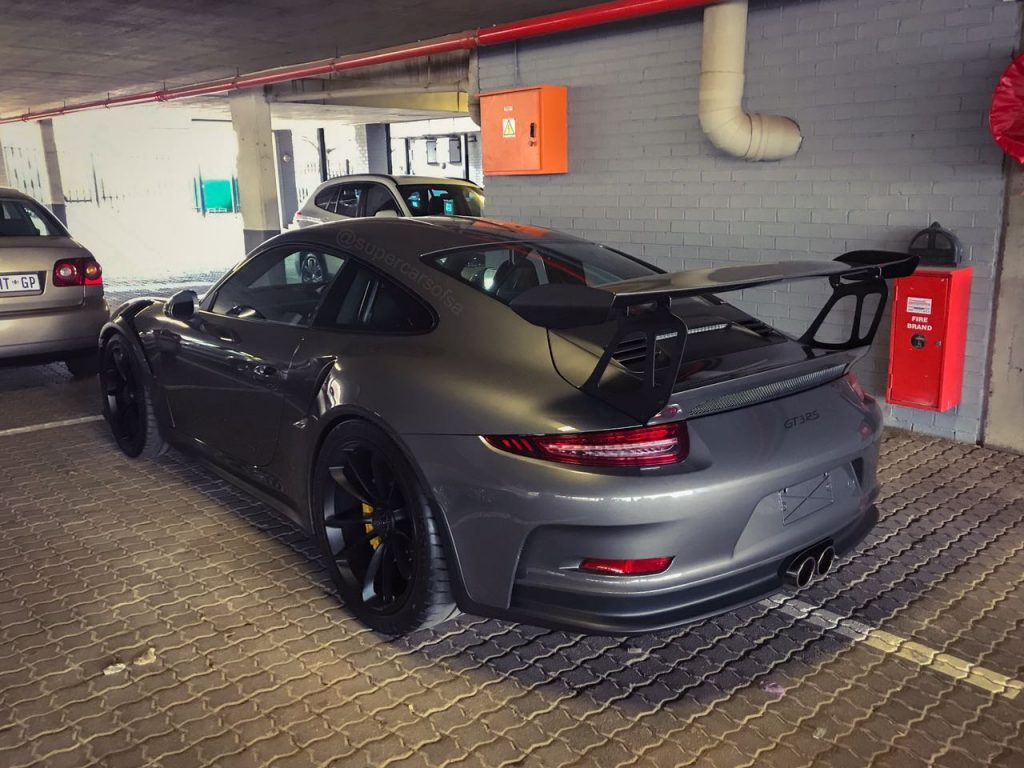 agate grey porsche gt3 rs south africa