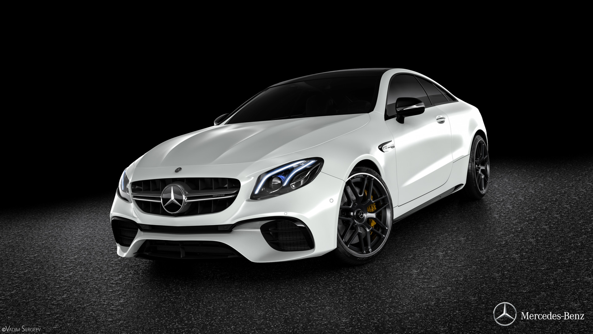 Incredible mercedes amg e63 s coupe renderings show why it for Mercedes benz e63 s amg