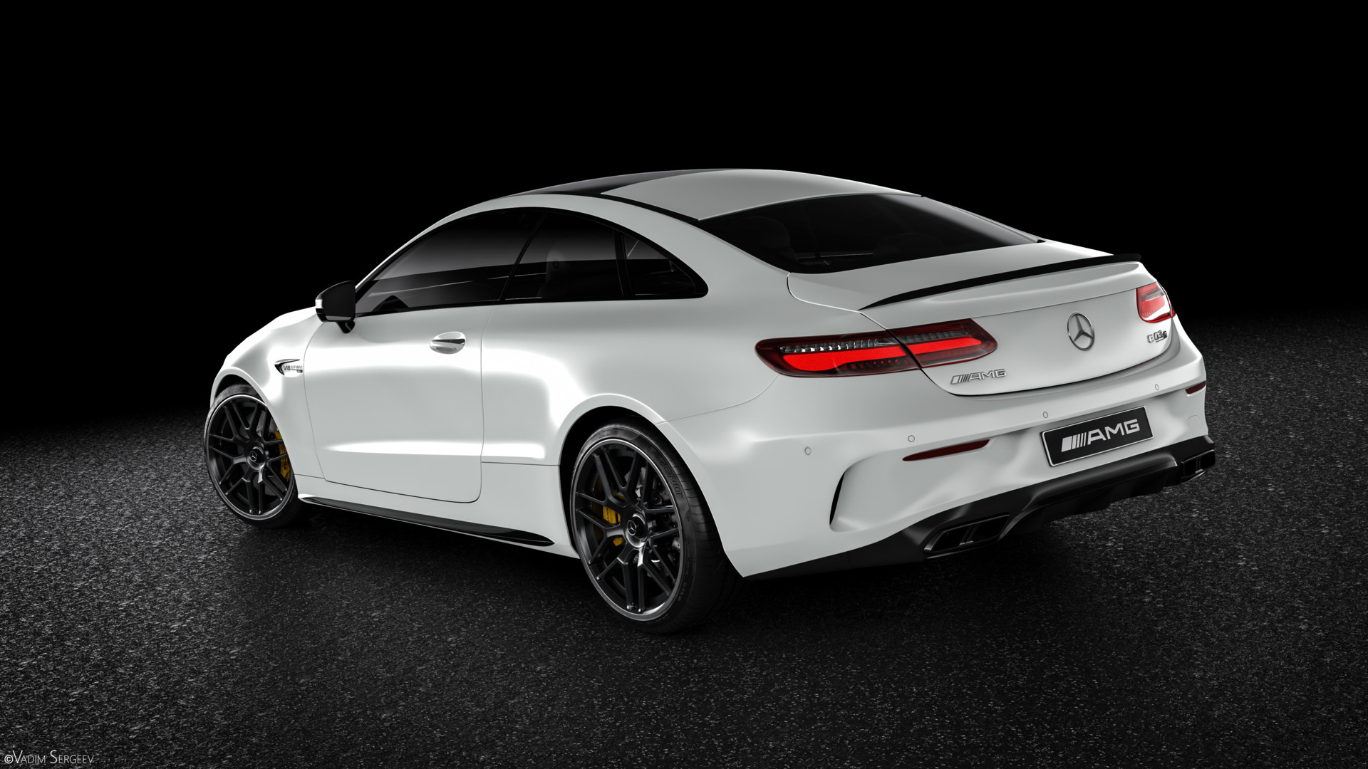 Incredible mercedes amg e63 s coupe renderings show why it for Mercedes benz e 63 amg