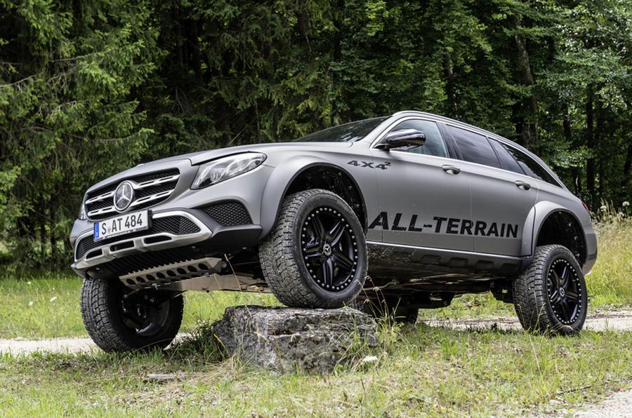 One-off Mercedes E-Class All-Terrain 4x4² Created