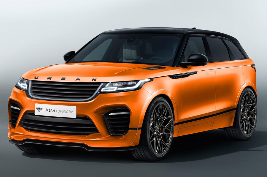 Urban Automotive Share Range Rover Velar Gts Kit
