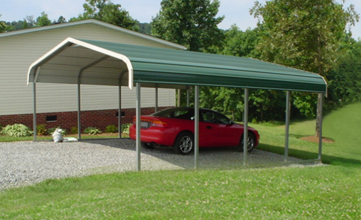 5 Car Metal Carport : Tips for finding the right type of carport your car