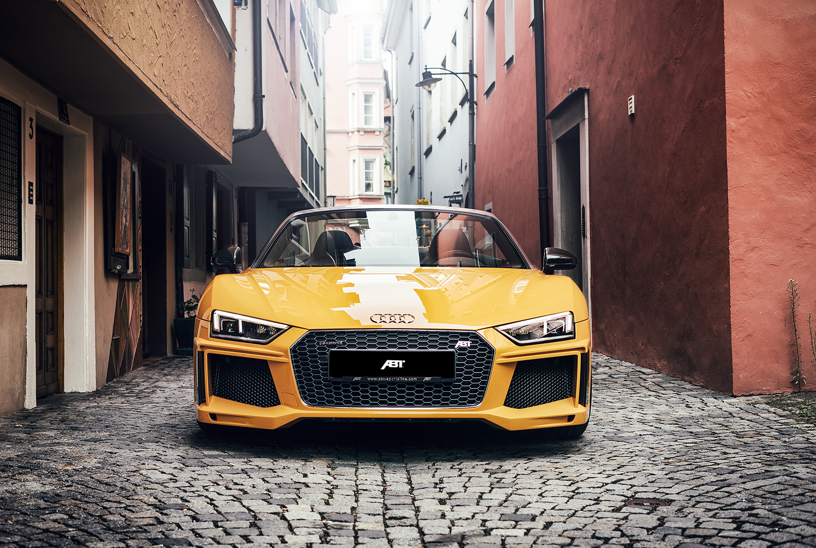 Abt Audi R8 Spyder Looks Serious And Packs 610 Hp