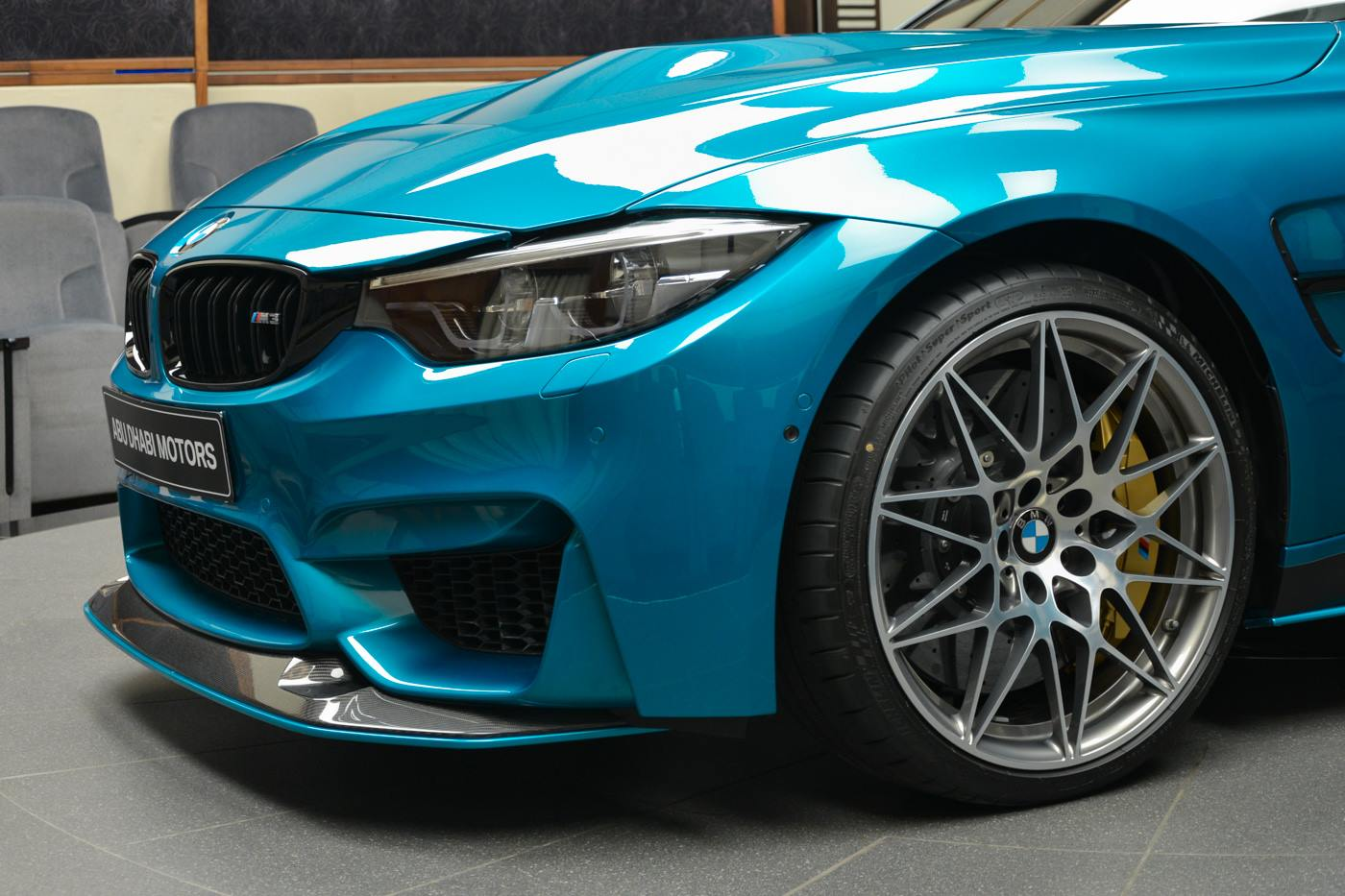 atlantis blue bmw m3 looks astonishing with m performance goodies. Black Bedroom Furniture Sets. Home Design Ideas