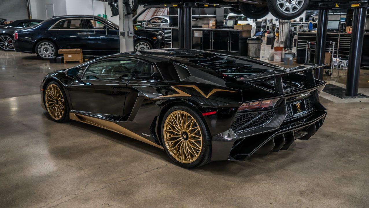 Last Lamborghini Aventador Sv Coupe Delivered To Beverly