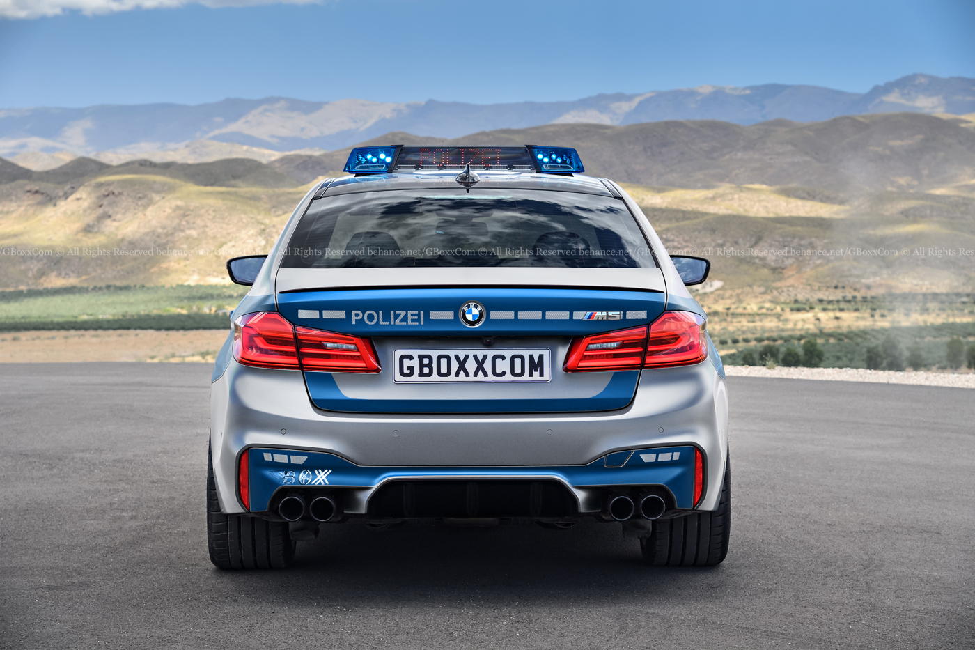 New Bmw M5 Rendered As Convertible Cop Car And M