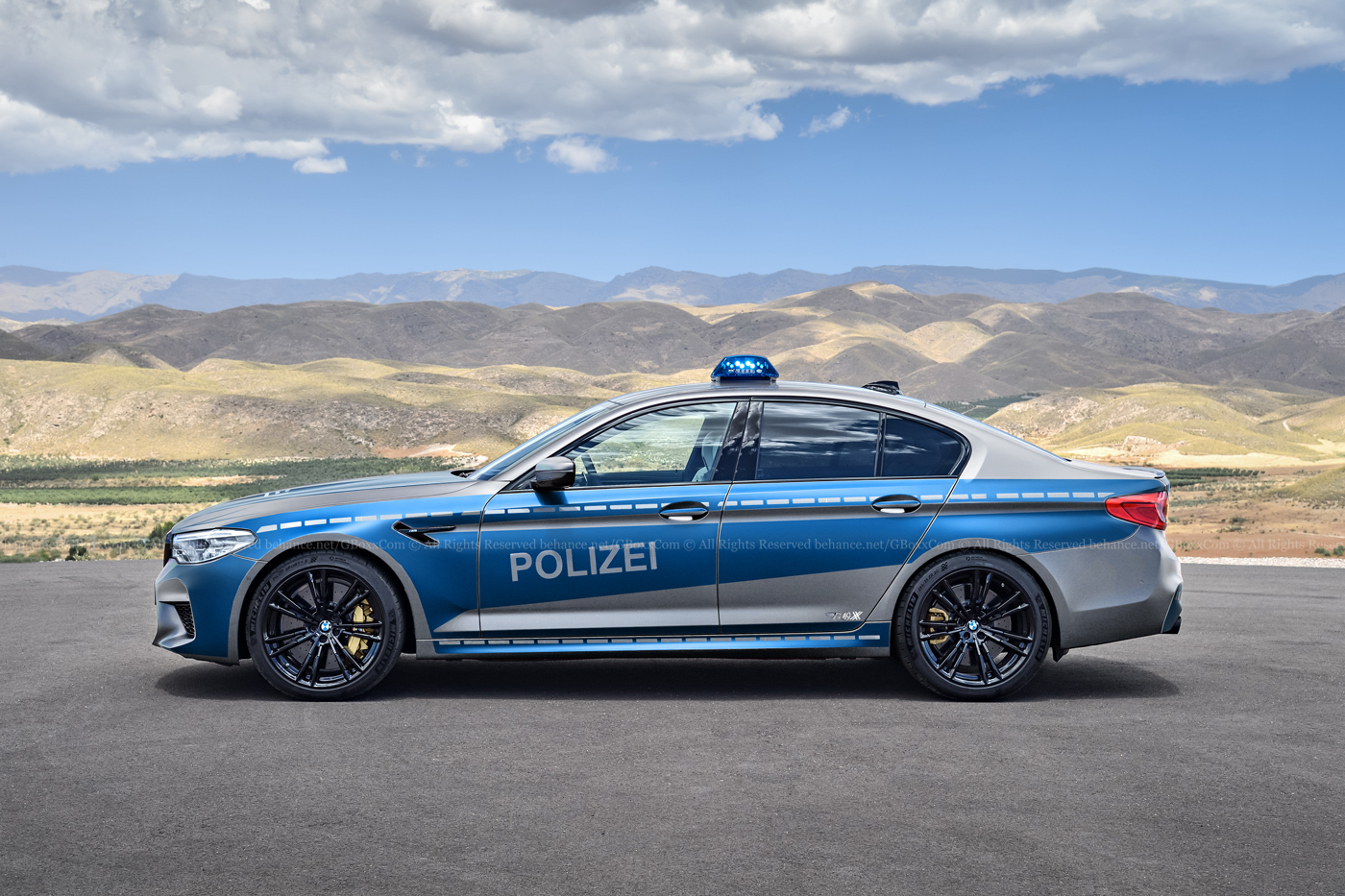 Car That Runs On Air >> New BMW M5 Rendered As Convertible, Cop Car and M Performance Safety Car