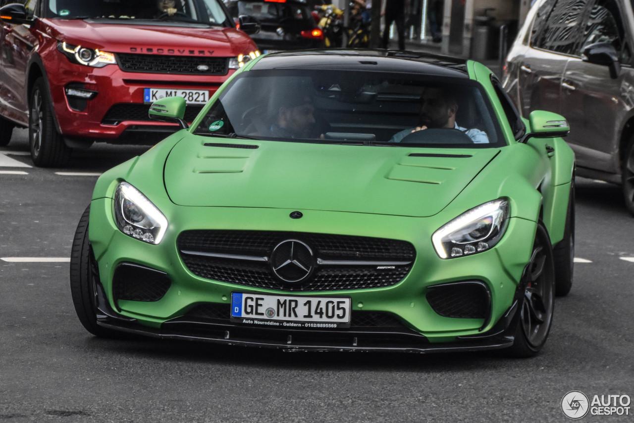 Green Prior Design Mercedes AMG GT S Screams Hulk