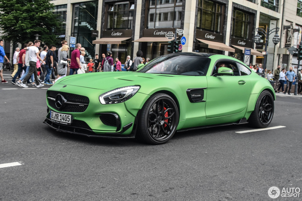green prior design mercedes amg gt s screams hulk. Black Bedroom Furniture Sets. Home Design Ideas