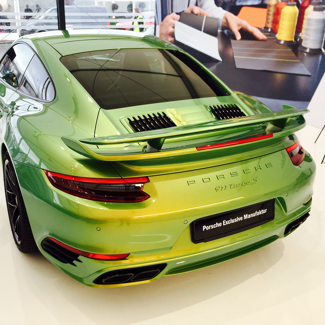 New Porsche Turbo S Gets R1.3 Million Paint Job