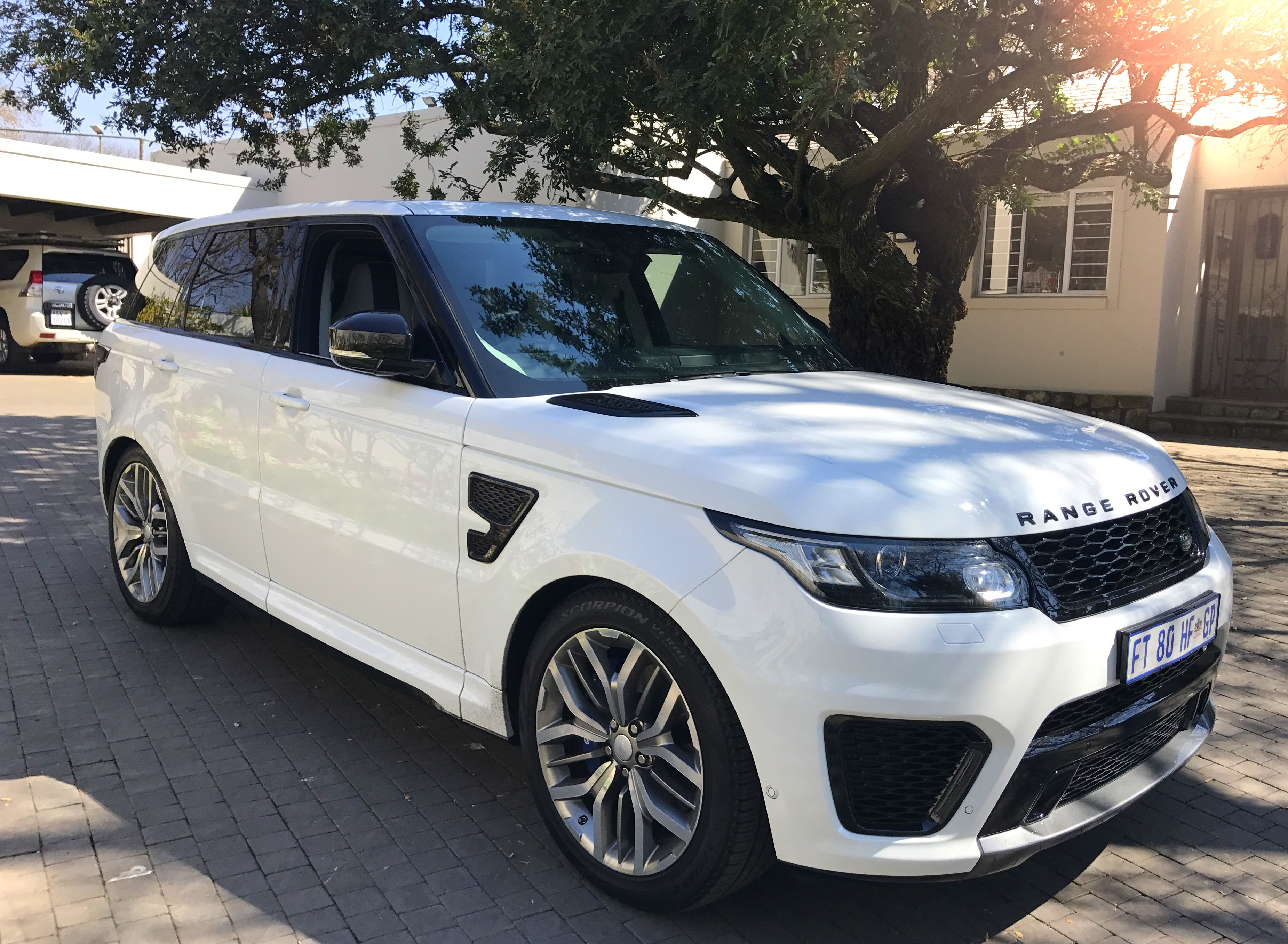 If You Are Not Aware About The Svr Version Would Think It Is A Regular Range Rover Besides Badging Styling Identifiers