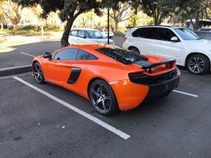 orange mclaren 650s south africa