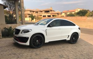 mercedes gle63 coupe lumma design south africa
