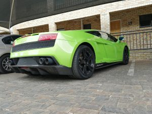 lamborghini gallardo signature series south africa