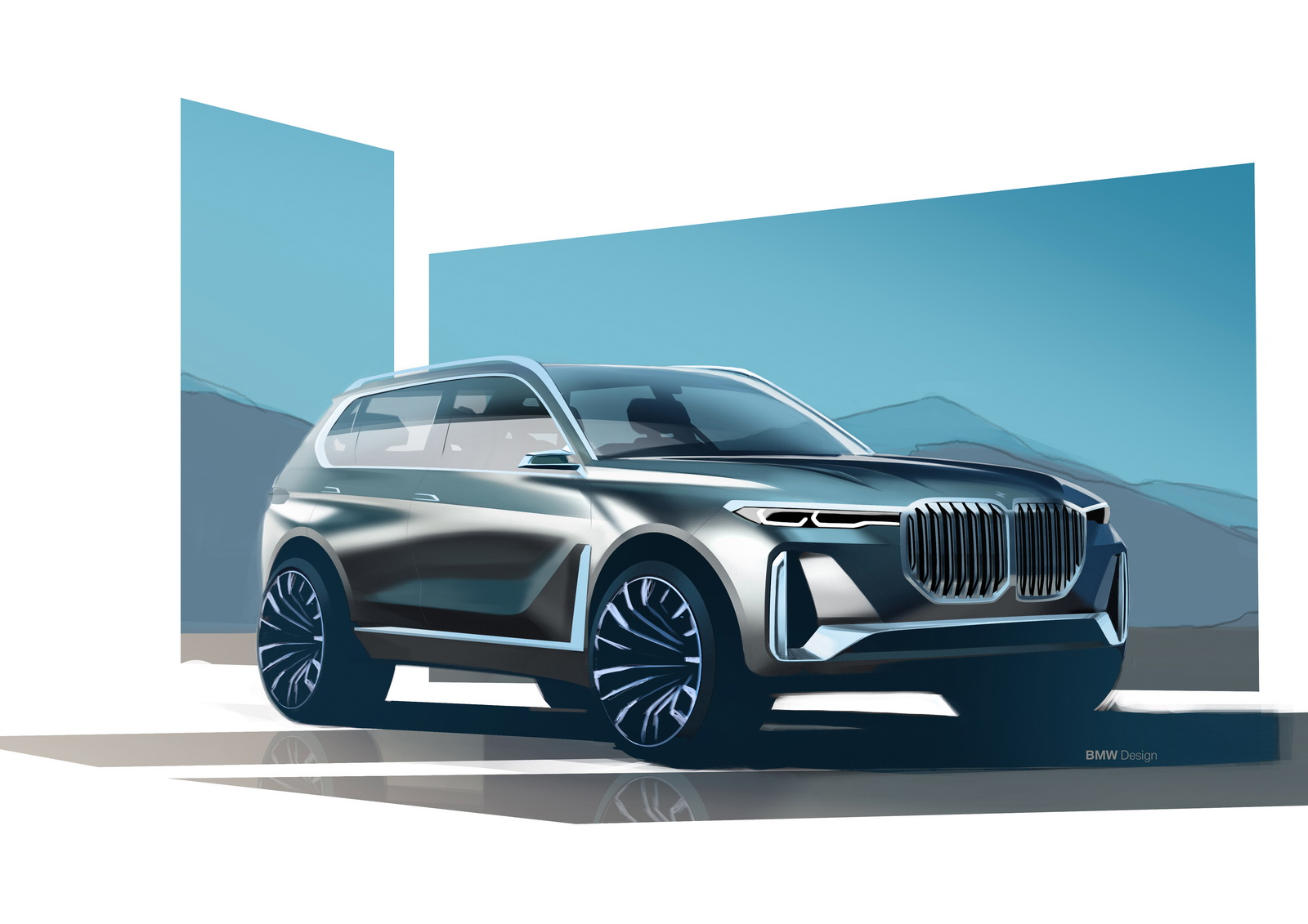 8 Seater Suv >> A New Flagship Super-Luxury BMW X8 May Follow X7