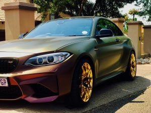 volcanic flair bmw m2 gold wheels south africa