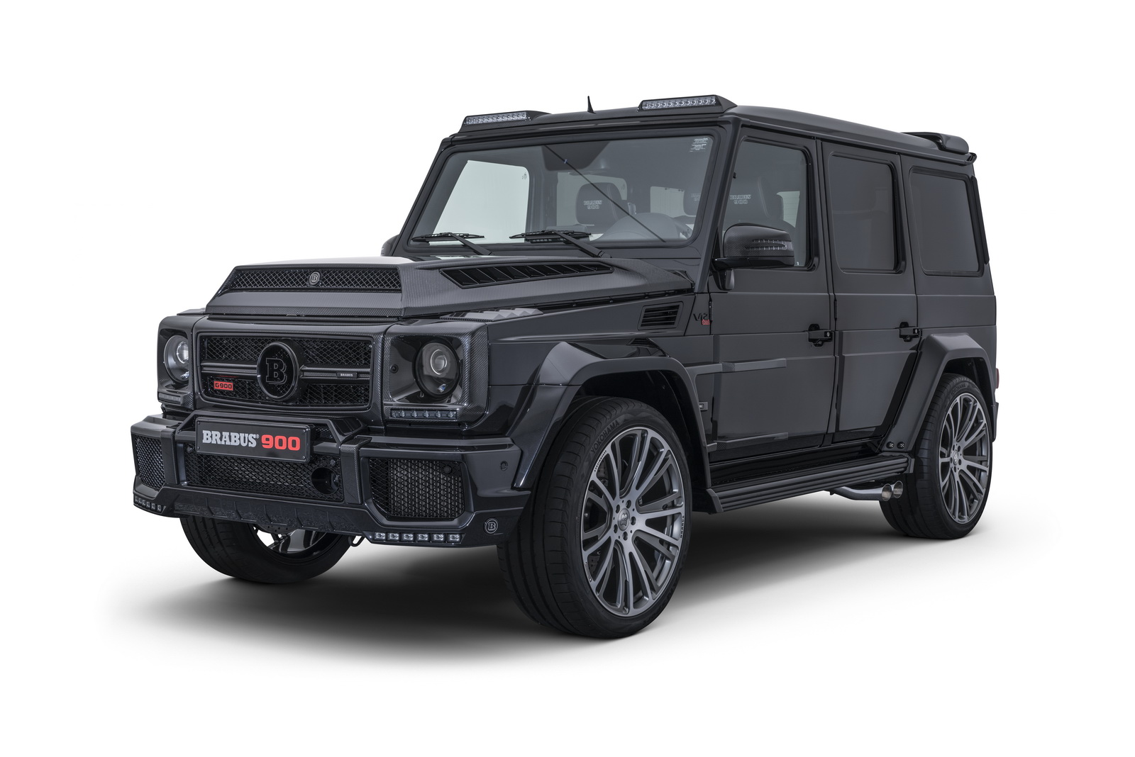 brabus 900 one of ten mercedes g65 is a brute
