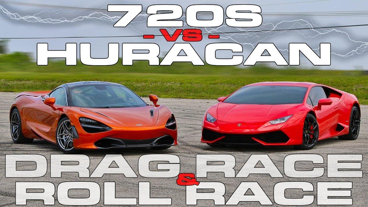 Mclaren 720s Vs Lamborghini Huracan Shows Who Is Boss