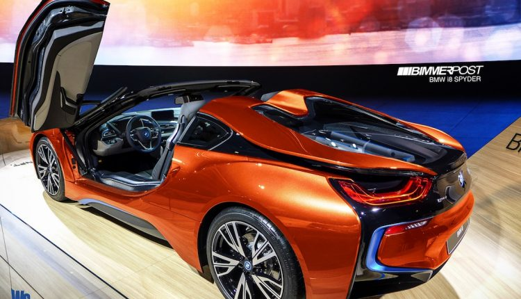 BMW I8 Roadster To Double Electric Range Of Current
